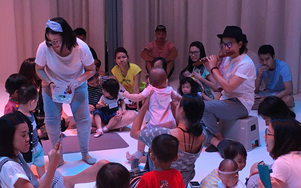 Making Extraordinary Sounds With and For Babies : An interview with Andy Chia and Natalie Alexandra Tse (Little Creatures by SA)